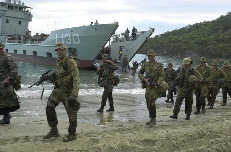 Global Federation International News Network! - Page 5 Australia-military