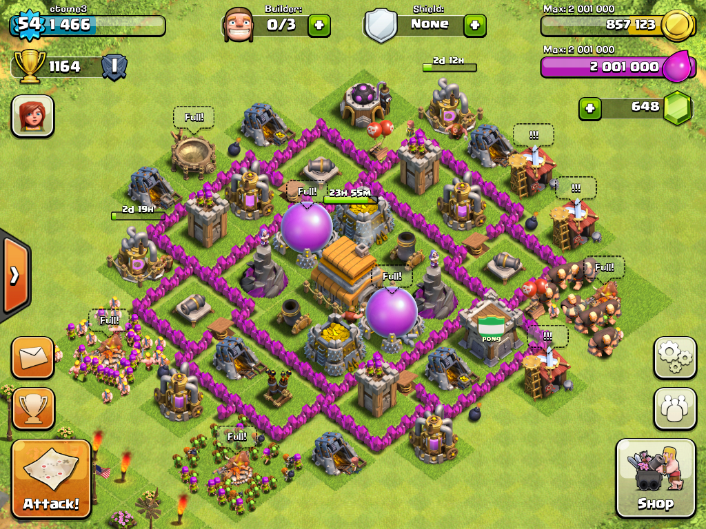Image - Ctome3 TH6 20130429.PNG - Clash of Clans Wiki - Wikia