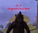 Angered Cave Bear