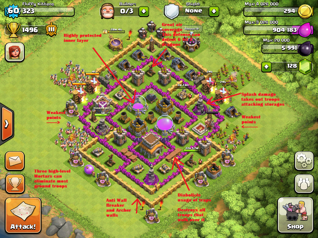 The Fluffiest One's High-Level Strategy Guide - Clash of Clans Wiki