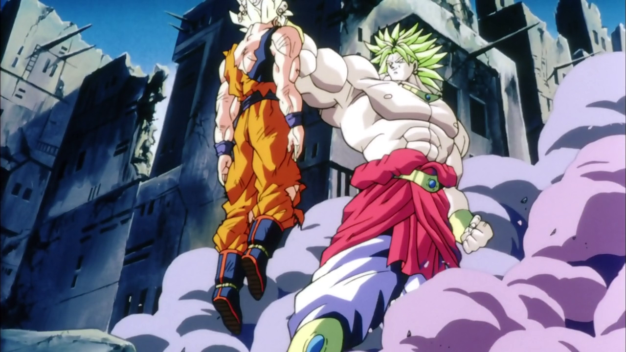 Goku vs. Broly Dragon ball z les derniers oav