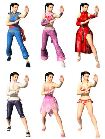 Image - VF5 Pai Costumes.jpg - The Dead or Alive Wiki - Dead or ...