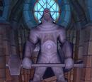 Statue von Harthal Klarblick