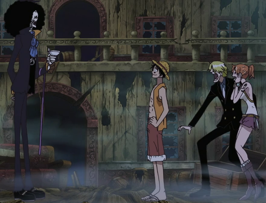 one piece what episode does luffy meet brook