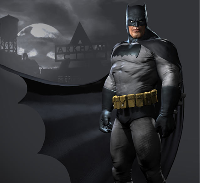 Batman Arkham Knight Batcave: Batman Arkham City Skin Dark Knight.jpg