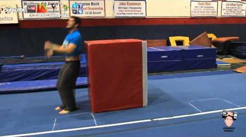 Learn How to do a Backflip Part 2- Gymnastics back flip tutorial