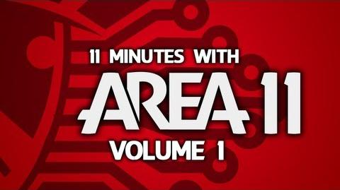 """11 Minutes With Area 11 - Volume 1 """"I Don't Spend Much Time Videoing Televisions""""-0"""