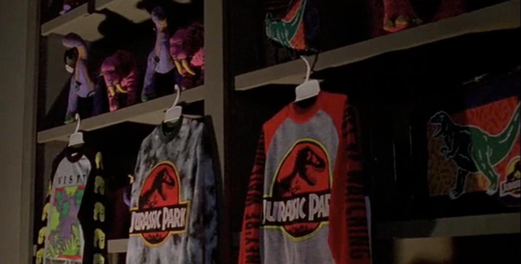 Gallimimus Gift Shop Park Pedia Jurassic Park