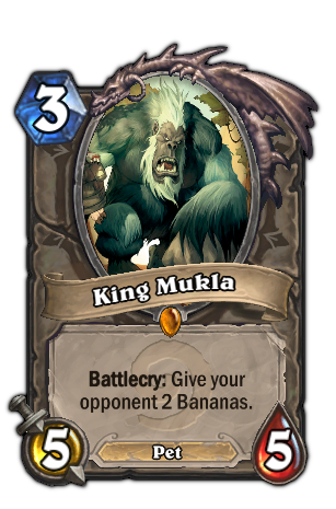 King Mukla - Hearthstone: Heroes of Warcraft Wiki