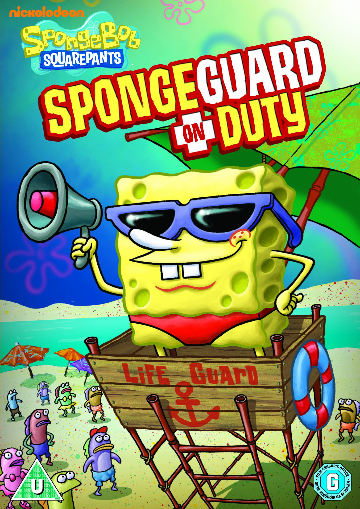 spongebob dvd spongeguard on duty pictures to pin on