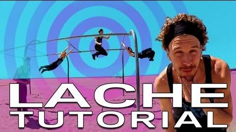 Lache Parkour Tutorial - How to swing from a bar (Jesse La Flair)