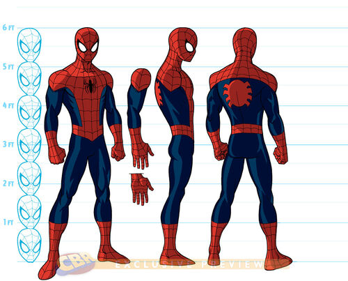 Image - Ultimate-Spider-Man- Ultimate Spider Man Peter Parker Costume