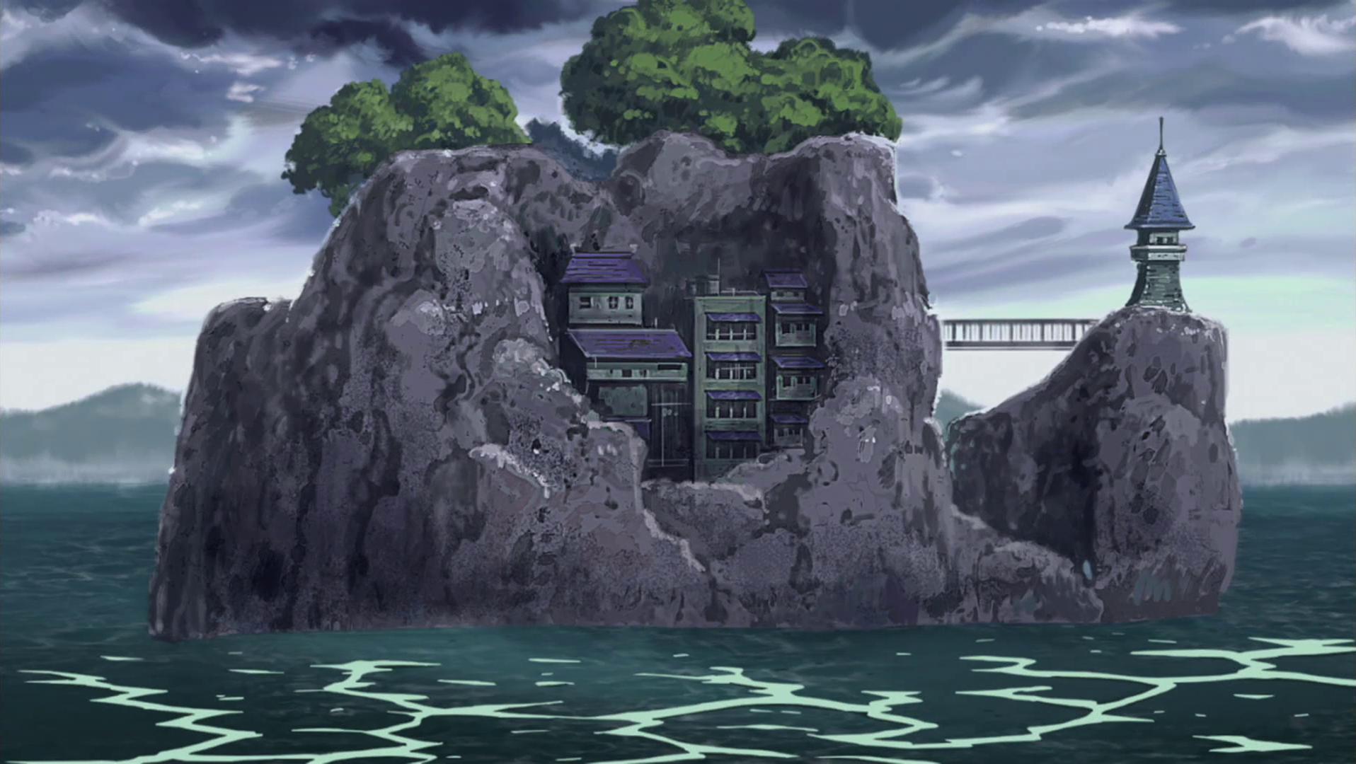 Terra do Fogo Orochimaru%27s_Island_Laboratory_anime