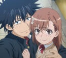 Dniv/Misaka x Touma ranks 3 in anime couples competition!