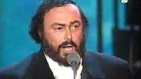 "Le Bon & Pavarotti ""Ordinary World"""