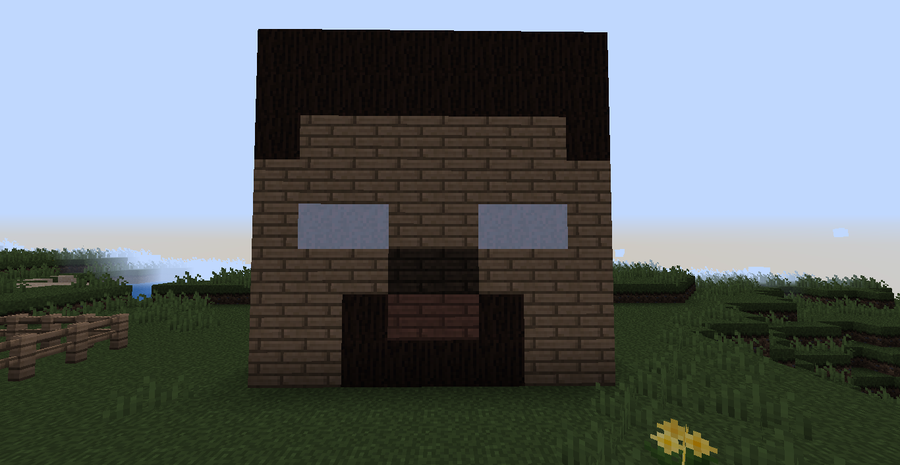 Image - Minecraft herobrine head by xminyoungie-d50a6qt ...