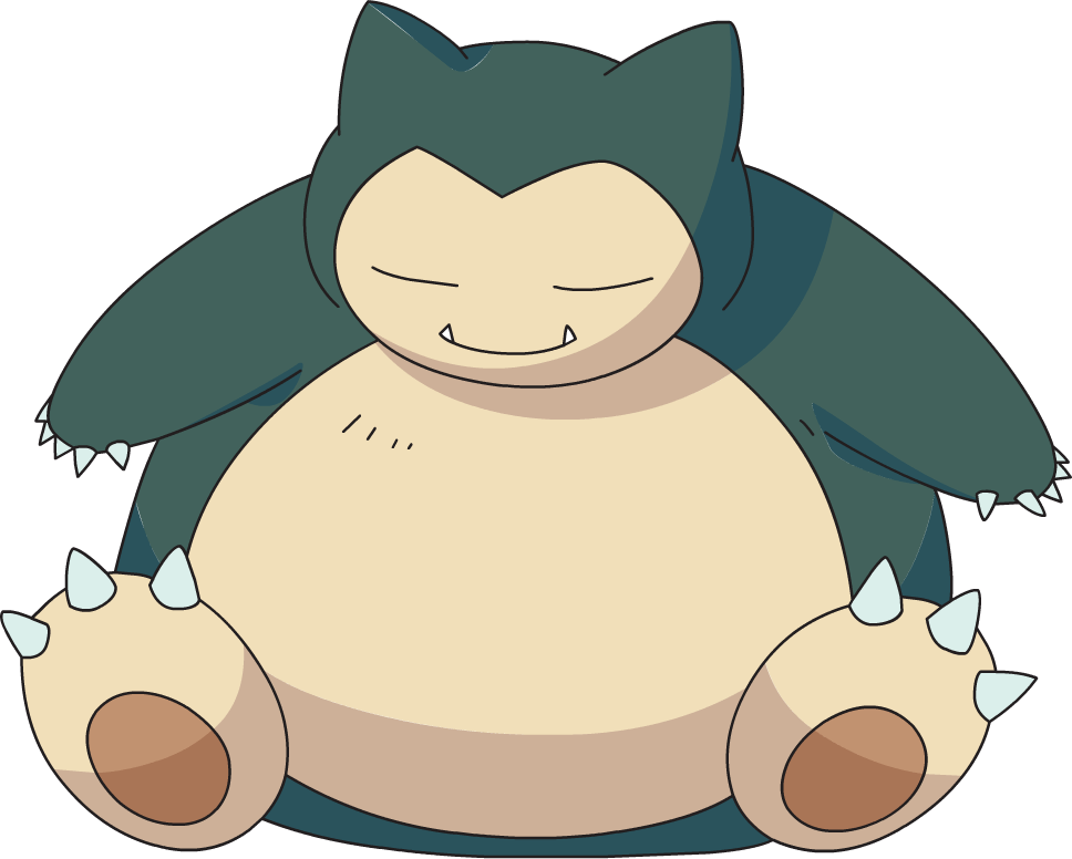 Pin snorlax pokemon image on pinterest