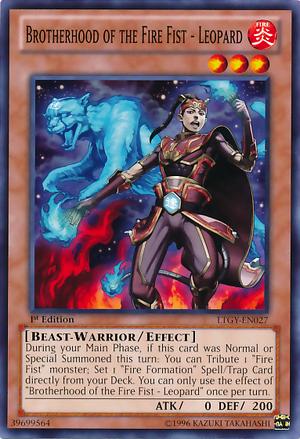 Lesson 14 - Brotherhood of the Fire Fist 300px-BrotherhoodoftheFireFistLeopard-LTGY-EN-C-1E