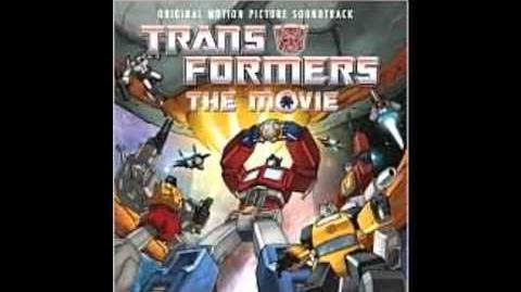1986 Transformers The Movie Soundtrack Autobot Decepticon Battle by Vince DiCola