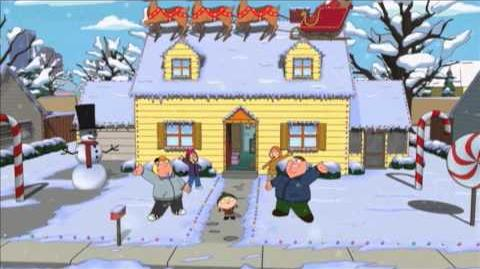 """""""All I Really Want For Christmas"""" FAMILY GUY FOX BROADCASTING"""