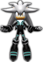 Sonic Rivals 2 - Silver the Hedgehog costume 1.png