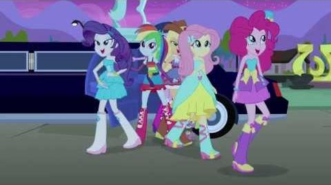 My Little Pony Equestria Girls Clip via Entertainment Weekly-0