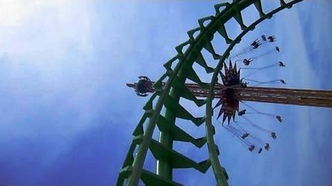 Boomerang (On-Ride) Six Flags St. Louis - 1080p