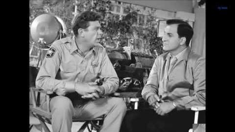 """""""The Fishing Hole"""" The Andy Griffith Show Theme Song & Rare Behind the Scene Shots"""