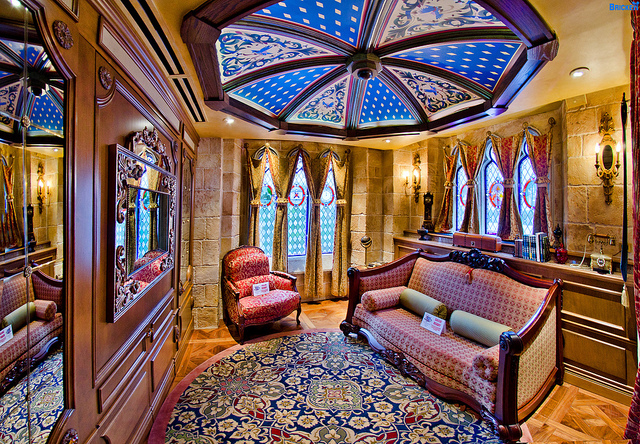 Room In Cinderella S Castle Disney World
