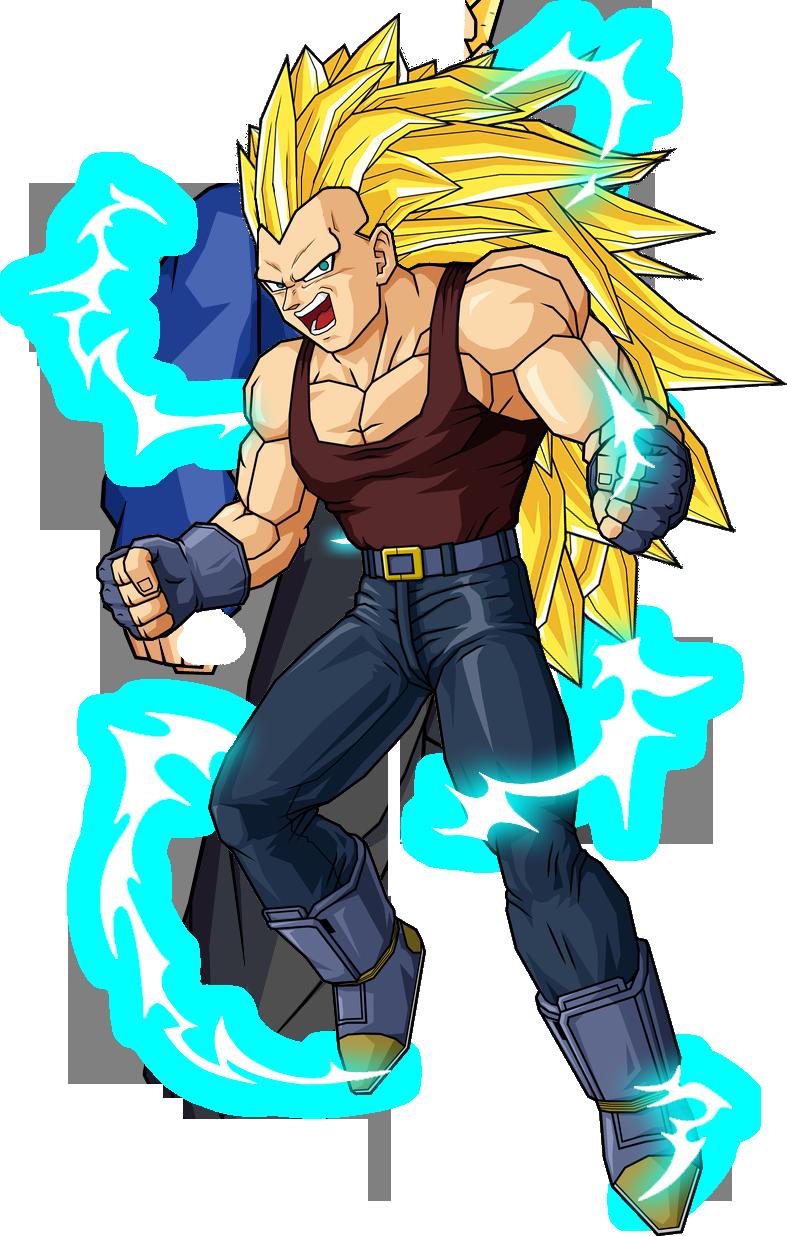 Vegeta anime dragon ball power levels wiki - Sangohan super saiyan 3 ...
