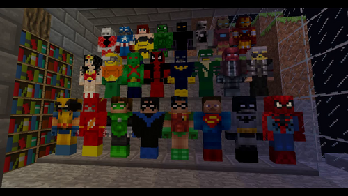 Superheroes unlimited minecraft mods wiki