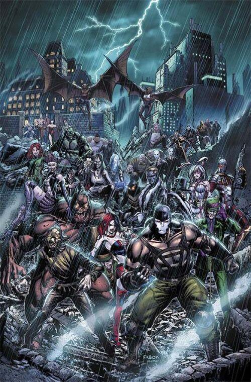 Forever Evil Teaser Forever Evil Arkham War Vol