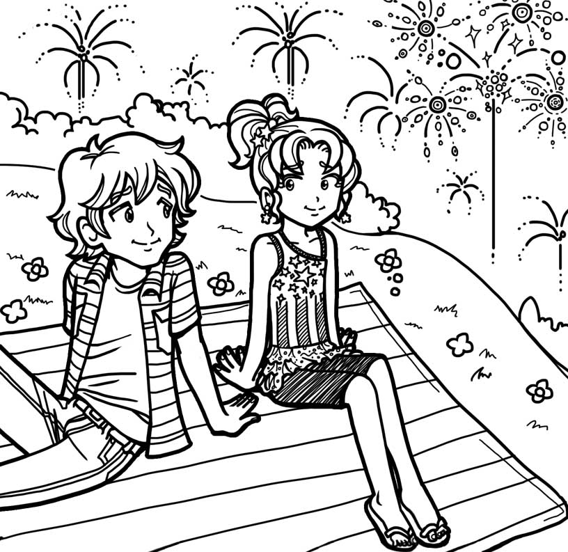 dork diaries 8 coloring pages - photo#26