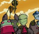 Invader Skoodge and Zim's Relationship