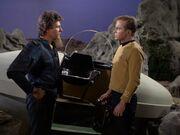 Kirk erfährt die Wahrheit von Lazarus