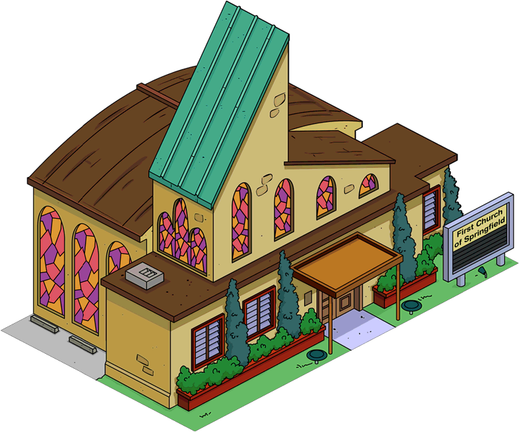 First Church Of Springfield The Simpsons Tapped Out Wiki