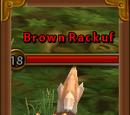 Brown Rackuf