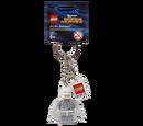 850815 Arctic Batman Key Chain