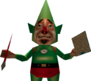 Personajes de Too Much Tingle Pack