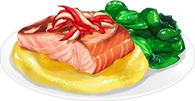 Recipe-Salmon and Buttery Turnip Puree