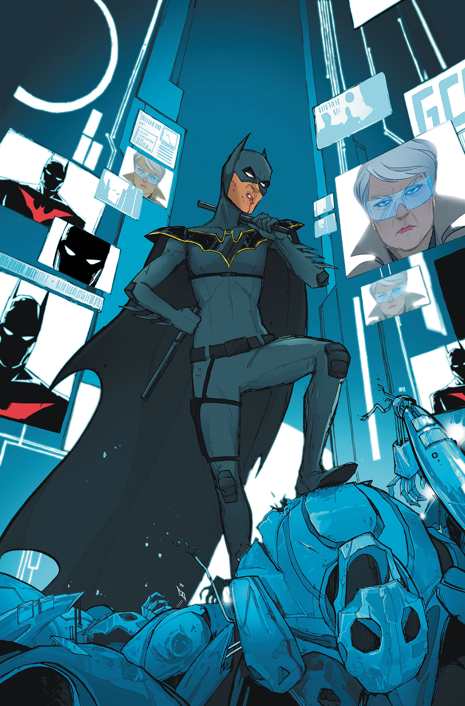Batman Beyond Unlimited Vol 1 18 - DC Comics DatabaseNew 52 Batman Beyond