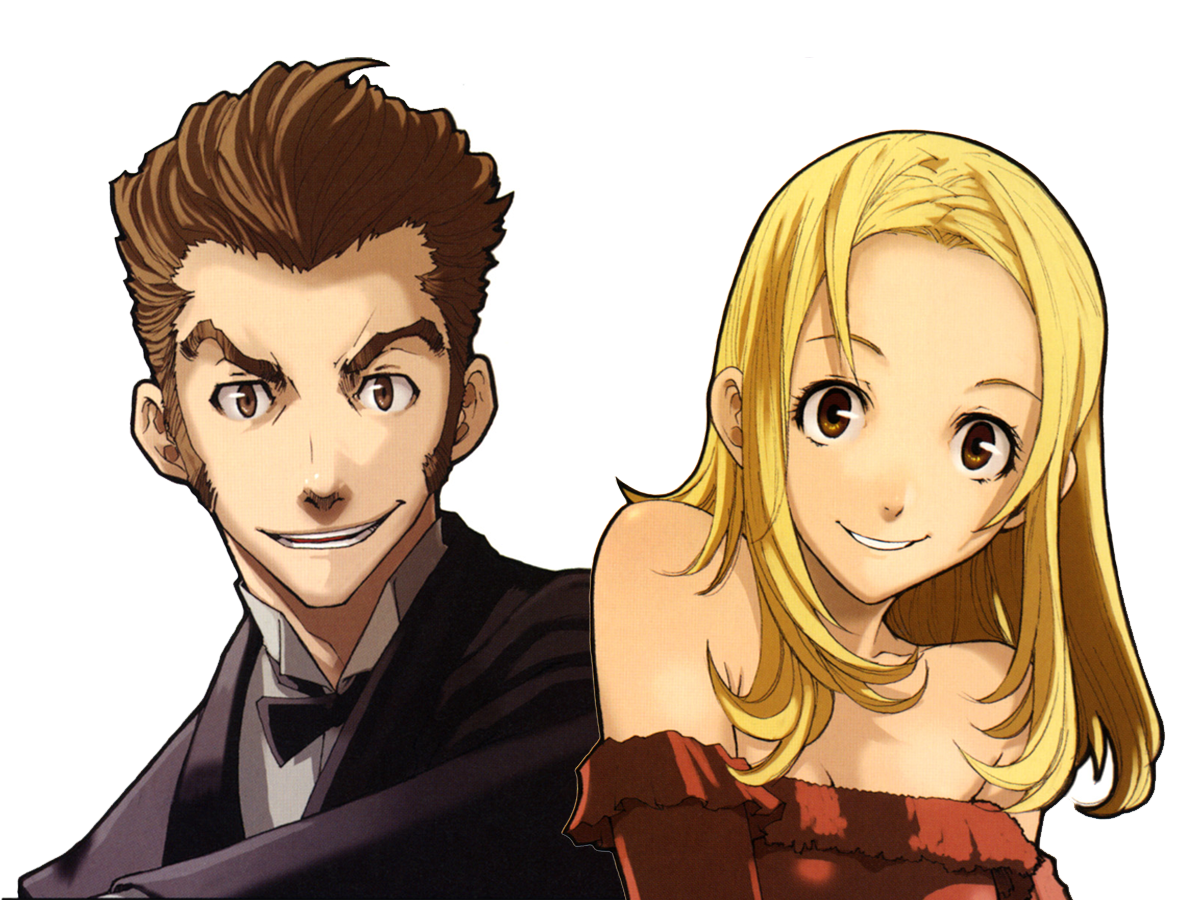 baccano coloring pages - photo#7