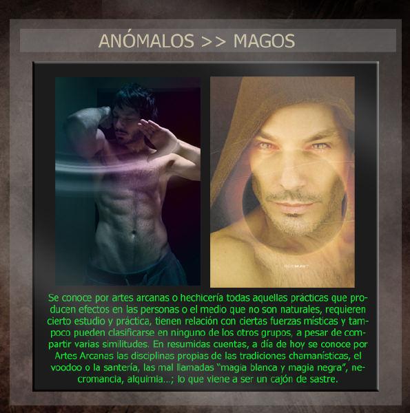 Anómalos: personas con habilidades sobrenaturales Magoscopy