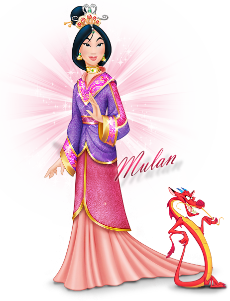 Disneyland mulan warrior