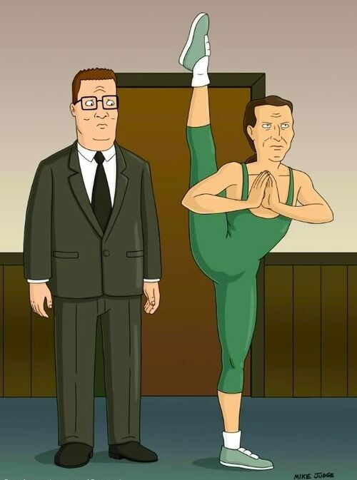 the gallery for gt hank hill upset