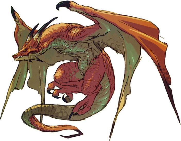 Wyvern Dragon: Breath Of Fire