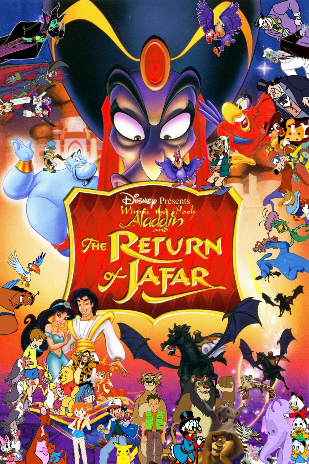 new version of the poster for Winnie the Pooh and The Return of Jafar ...