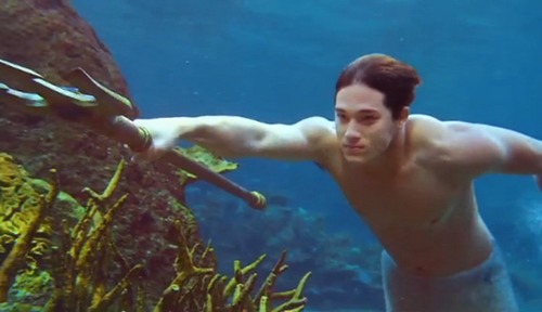 Image Zac With Trident Png Mako Mermaids Wiki