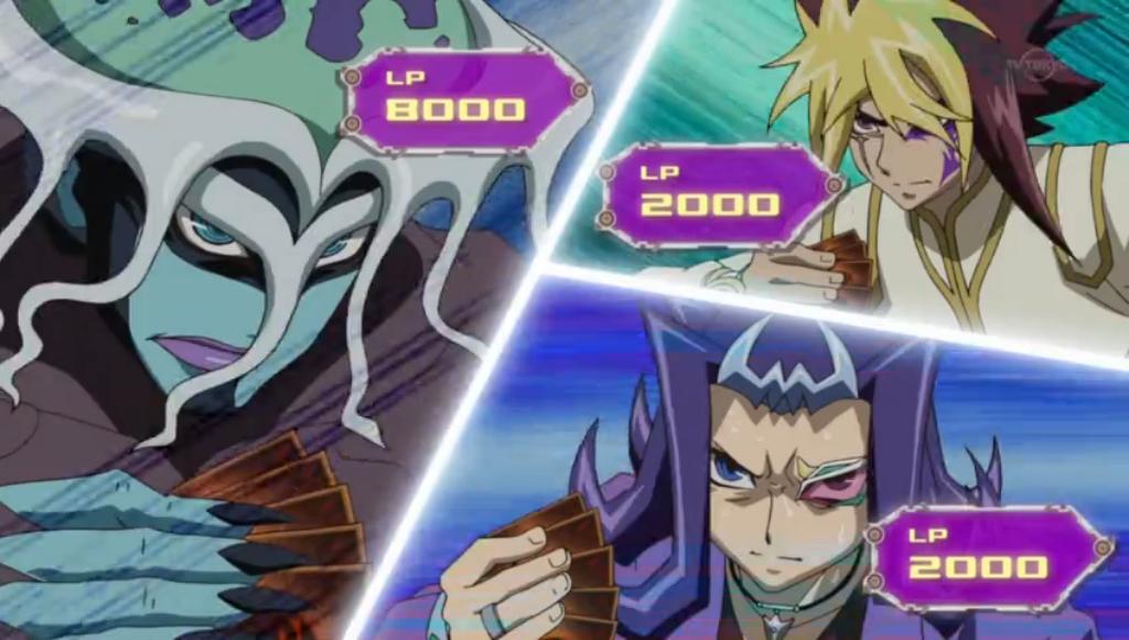 Featured Duel  Chironex vs  Shark and QuattroYugioh Number 4 Stealth Kragen