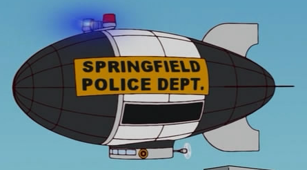 Springfield police blimp simpsons wiki - Police simpsons ...